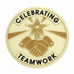 Custom Engraved Celebrate Teamwork Emblems and Seals