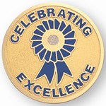 Custom Engraved Celebrating Excellence Emblems and Seals