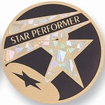 Custom Engraved Champion Performer Emblems and Seals