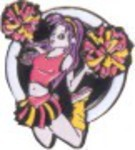 Custom Made Cheerleading Stock Sports Lapel Pins
