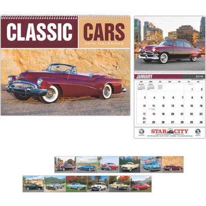 Custom Printed Classic Cars Appointment Calendars
