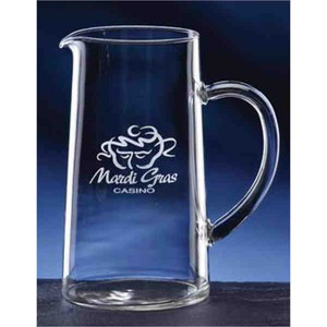 Custom Printed Classic Pitcher Crystal Gifts