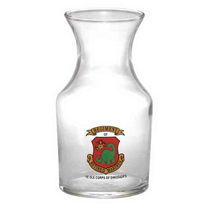 Glass Carafes, Custom Made With Your Logo!