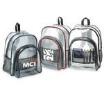 Personalized Clear Vinyl Backpacks