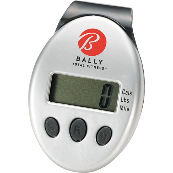 1 Day Service Flashlight Pedometers, Personalized With Your Logo!