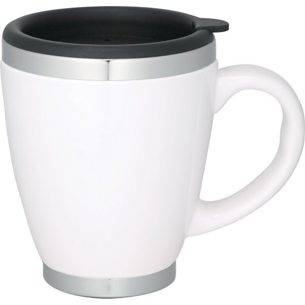 1 Day Service 13oz. Coffee Mugs, Custom Decorated With Your Logo!