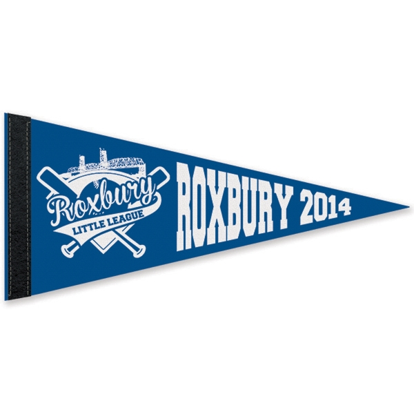 Custom Printed Ram Mascot Pennants