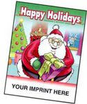 Custom Printed Holiday Themed Coloring Books
