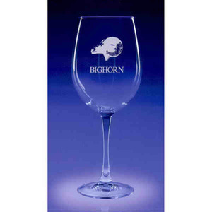 Custom Printed Colossal Wine Drinkware Crystal Gifts