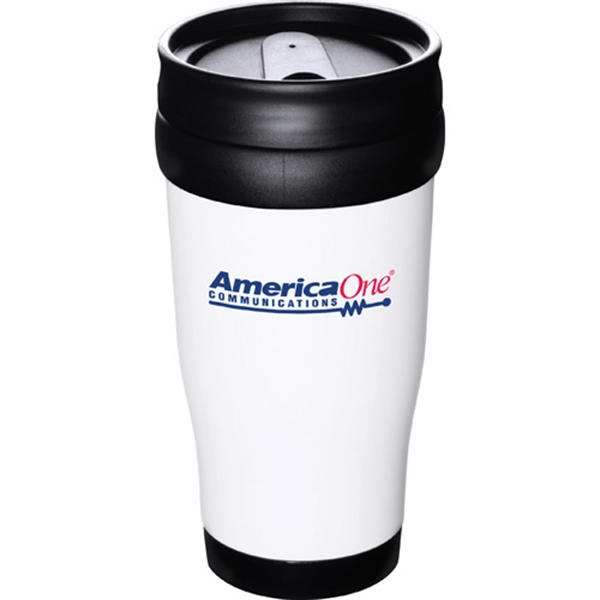 1 Day Service 12oz. Travel Tumblers, Custom Made With Your Logo!