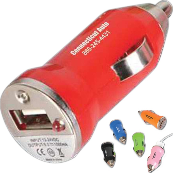 Custom Printed USB Car Chargers
