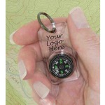 Custom Imprinted Compass Keychains