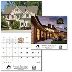 Custom Printed Cottages Appointment Calendars