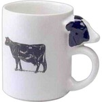 Custom Made Cow Handle Shaped Mugs