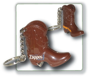 Cowboy Boot Shaped Bottle Openers, Custom Imprinted With Your Logo!