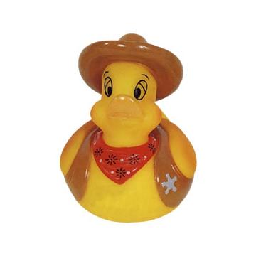 Custom Printed Cowboy Rubber Ducks
