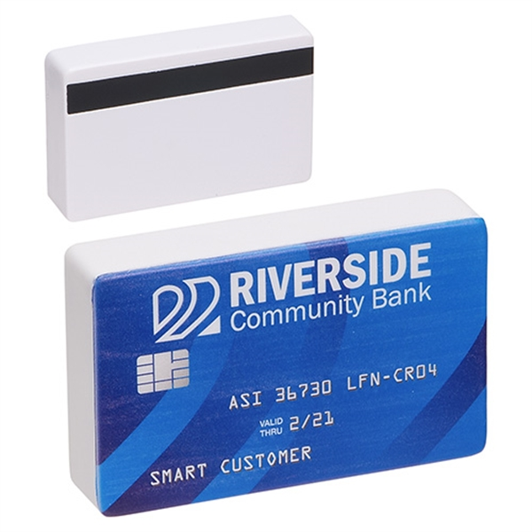 Custom Imprinted Credit Card Stress Relievers