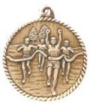 Cross Country High Relief Medals, Customized With Your Logo!