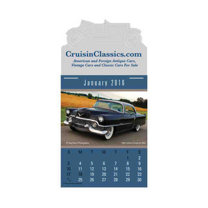 Custom Printed Cruisin' Cars Press and Stick Calendars