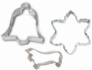 Custom Imprinted Cookie Cutters in Custom Shapes