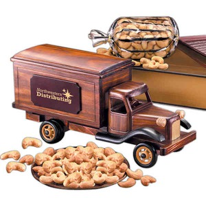 Custom Printed Delivery Truck Vehicle Themed Food Gifts