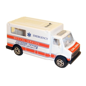 Die Cast Ambulances, Customized With Your Logo!