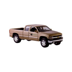 Custom Printed Die Cast Chevy Silverado Trucks