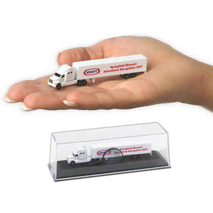 Custom Printed Die Cast Conventional Sleepers with Trailers