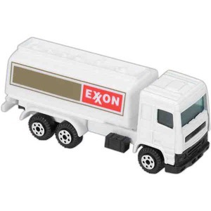Custom Printed Die Cast Fuel Trucks