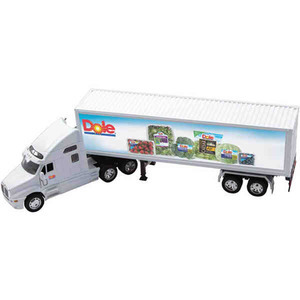 Custom Printed Die Cast Kenworth T2000 Trucks with Trailers