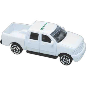 Custom Printed Die Cast Pickup Trucks