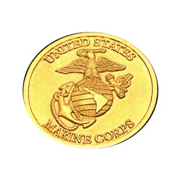 Custom Printed Brass Commemorative Coins