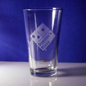Custom Printed Dimpled Pint Glasses