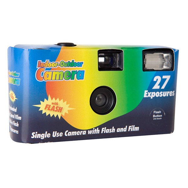27 Exposure Disposable Cameras, Custom Printed With Your Logo!