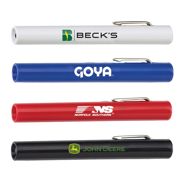 Penlight Flashlights, Personalized With Your Logo!