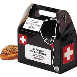 Custom Printed Doctor Medical Bag Design Donut Boxes
