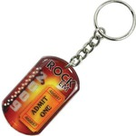 Custom Made Dog Tag Key Chains