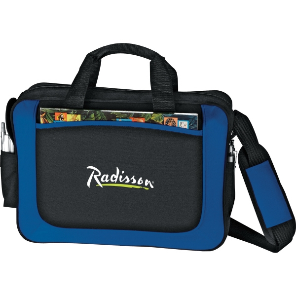 1 Day Service Flexar Canvas Briefcases, Custom Made With Your Logo!