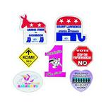 Custom Printed Democratic Donkey Shaped Magnets