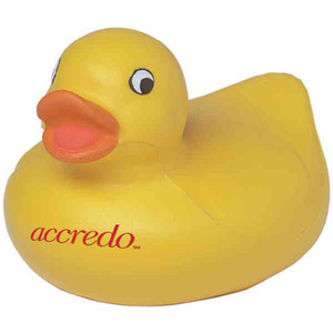 Custom Imprinted Duck Stress Relievers