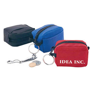 Duffel Bag Shaped Coin Purses, Custom Made With Your Logo!
