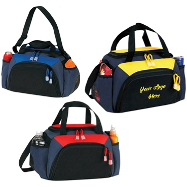 Custom Printed Canadian Manufactured Dual Lunch Duffel Bags