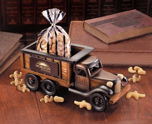 Custom Printed Dump Truck Vehicle Themed Food Gifts