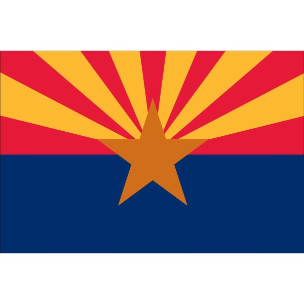 Custom Printed Arizona State Flags