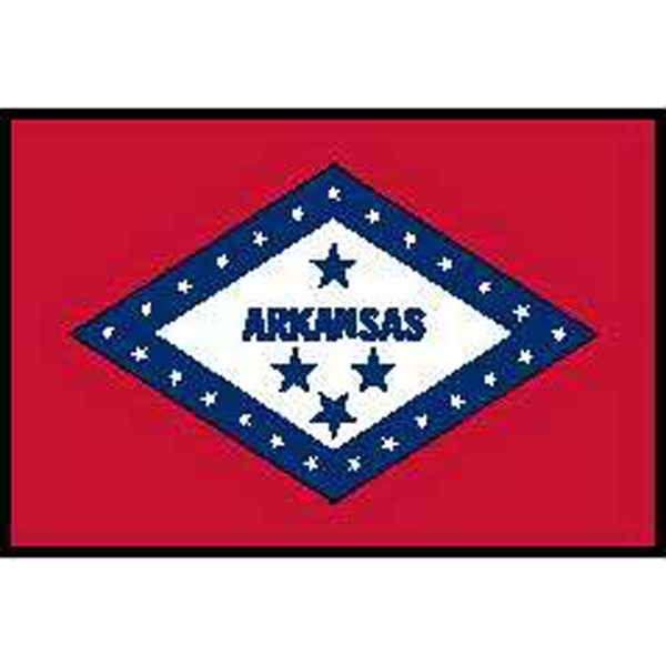 Arkansas State Flags, Custom Imprinted With Your Logo!