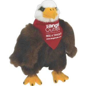 Custom Printed Eagle Bird Beanie Toys