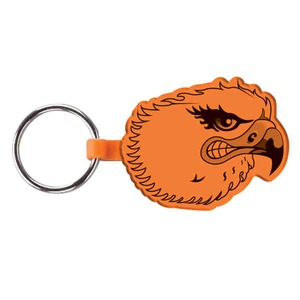 Custom Printed Eagle Bird Shaped Keytags