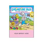 Custom Printed Easter Holiday Coloring Activity Books