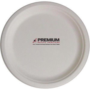 Custom Printed Eco Friendly Disposable Plates