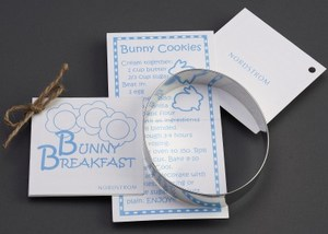 Custom Imprinted Egg Stock Shaped Cookie Cutters